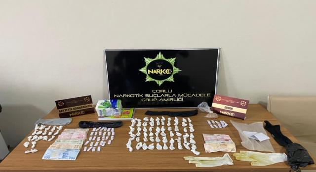 Tekirdağ'da uyuşturucu operasyonunda 3 kişi yakalandı