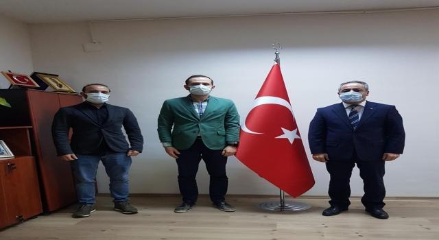 AA Bursa Bölge Müdürü Aksoy, Bursa Ticaret İl Müdürü Aslanlar'ı ziyaret etti