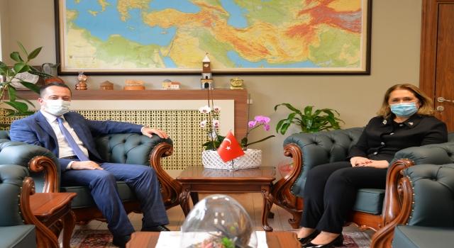 Kosova'nın İstanbul Başkonsolosu Novoberdaliu, Bilecik'i ziyaret etti