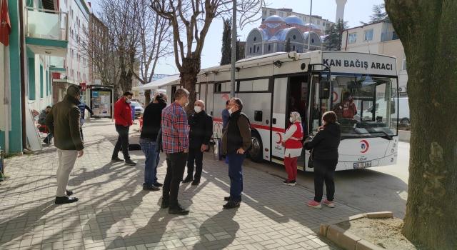 Bilecik'te sokağa çıkma kısıtlamasında randevu ile kan bağışı