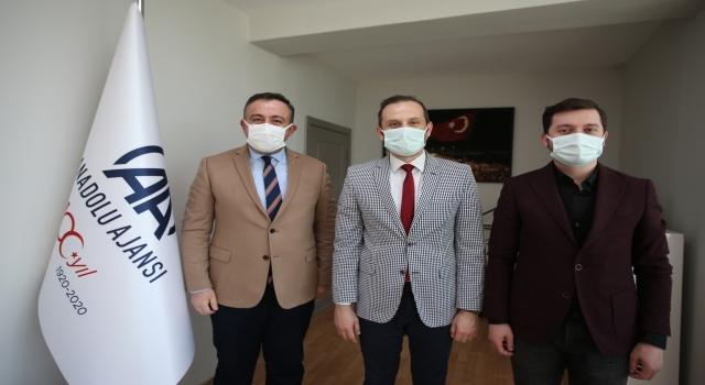 AK Parti Osmangazi İlçe Başkanı Çömez, AA'nın 101. kuruluş yıl dönümünü kutladı