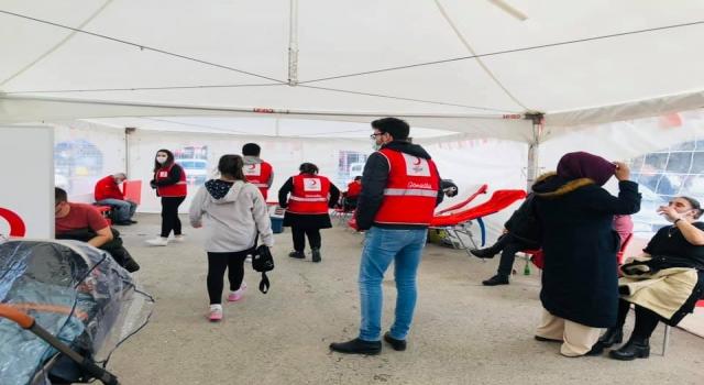 Kırklareli'nde kan bağışı kampanyası