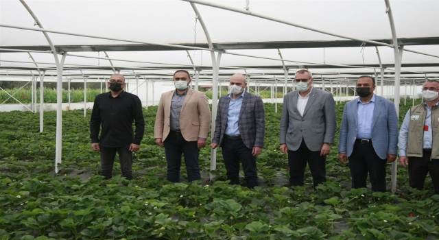 AK Parti Bursa Milletvekili Işık, Orhangazi'de ziyaretlerde bulundu