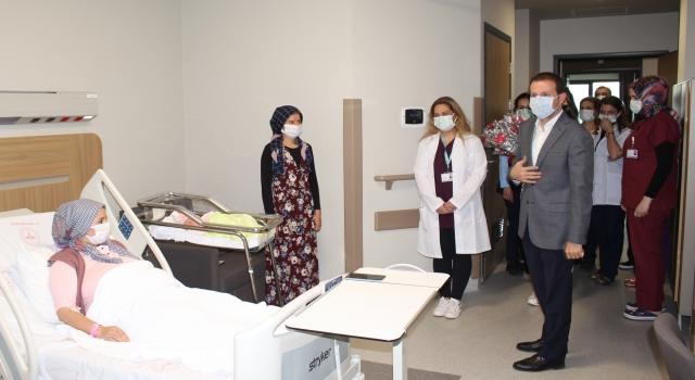 AK Parti Bursa Milletvekili Ahmet Kılıç'tan yeni doğum yapan annelere ziyaret