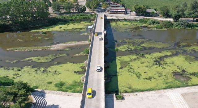 Tunca Nehri'nde çevre temizliği yapıldı