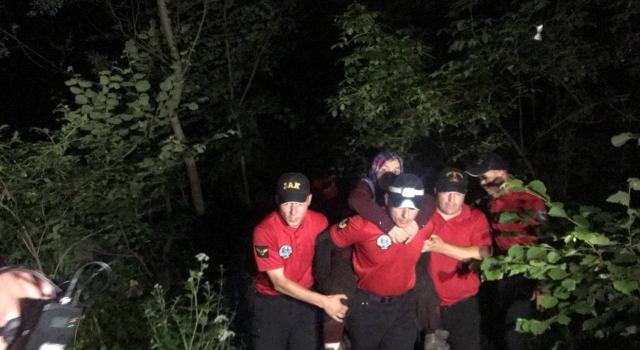 Uludağ'da ormanda kaybolan kadın 3 gün sonra sağ bulundu