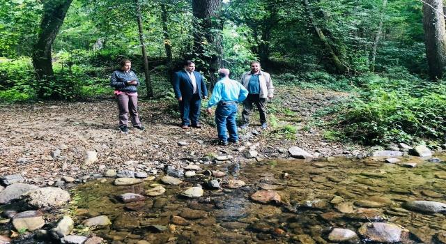 Demirköy'de tarımsal sulama projesi çalışmaları başladı