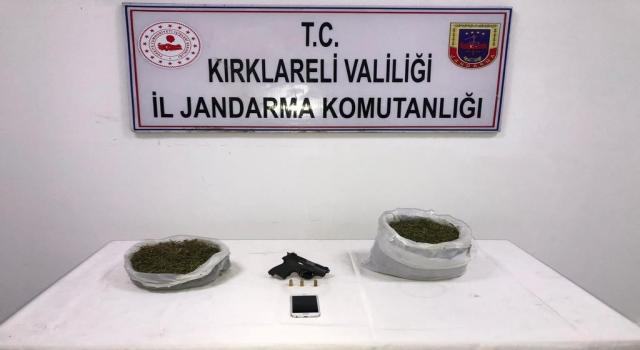 Kırklareli'nde uyuşturucu operasyonunda iki zanlı yakalandı