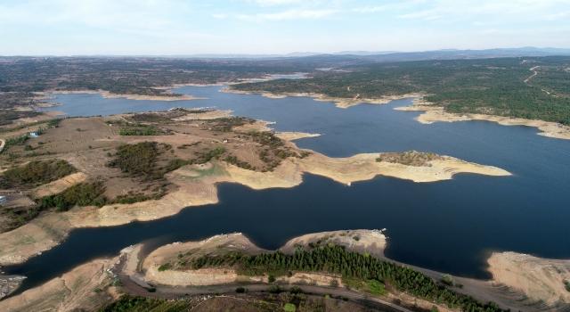 Trakya'daki 14 barajın ortalama doluluk oranı yüzde 41'e geriledi