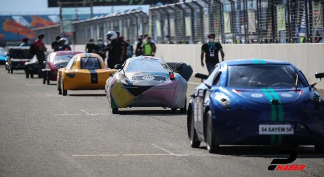 """""""16. TÜBİTAK Efficiency Challenge Elektrikli Araç Yarışları""""nın özel yarışı İstanbul Park'ta yapıldı"""