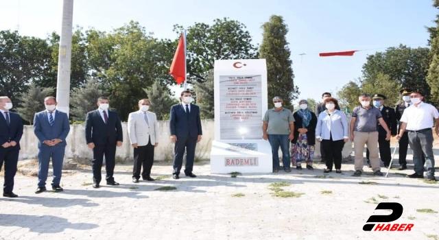 Bigadiç Belediyesi şehitler için 64 yerleşim biriminde anıt yaptırdı