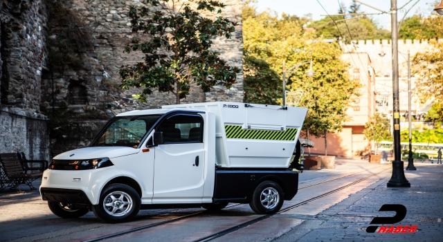 Bursalı firmanın ürettiği elektrikli mini kamyonet yollarda