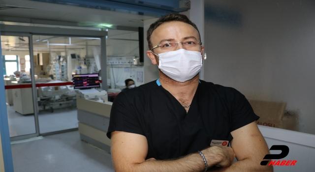 """DOKTORLAR KOVİD19'LA SAVAŞI ANLATIYOR """"Kaybettiğimiz hastanın serviste yatan ailesine haber vermek çok zordu"""""""