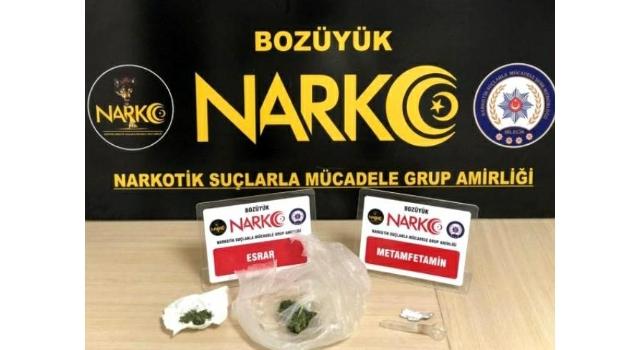 Bilecik'te üzerinde uyuşturucu bulunan kişi tutuklandı