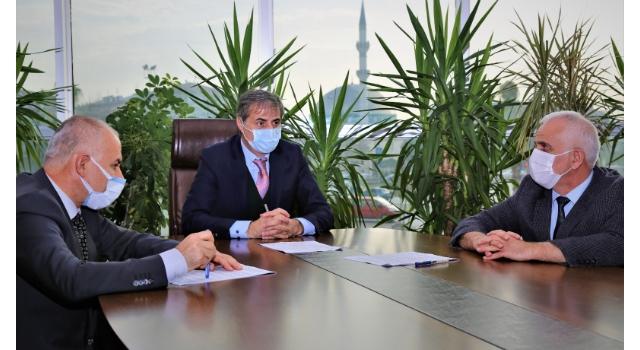 Serdivan'da maske üretimi için kurumlar arasında protokol imzalandı