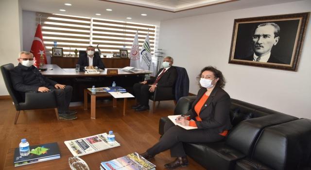 Keşan Belediye Başkanı Helvacıoğlu'ndan TRAKYAKA'ya ziyaret