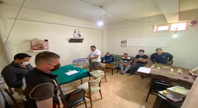 Tekirdağ'da soğan deposunda oyun oynayan 7 kişiye para cezası verildi