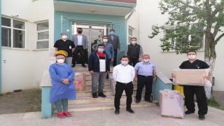 Osmaneli esnafından hastaneye televizyon desteği