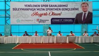Süleymanpaşa Belediye Başkanı Cüneyt Yüksel basın mensuplarıyla bir araya geldi