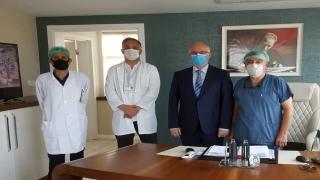 Kocaeli Sağlık Müdürü Ergüney, başhekim ve güvenlik görevlisine saldırıyı kınadı