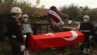 Tekirdağlı Kıbrıs Barış Harekatı gazisi İslam Yıldız son yolculuğuna uğurlandı