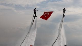 """Kocaeli'de """"Su Sporları Festivali"""" düzenlendi"""