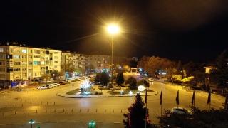 Trakya'da sokağa çıkma kısıtlaması nedeniyle cadde ve sokaklarda sessizlik hakim oldu