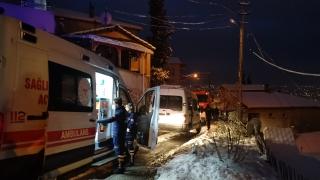 Kocaeli'nde yangına müdahale etmeye çalışan ev sahibi yaralandı