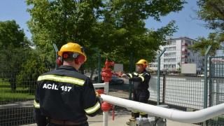 Bursagaz, güvenli doğal gaz kullanımı konusunda abonelerini bilgilendirdi