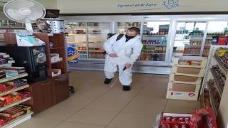 İpsala'da dezenfekte çalışmaları aralıksız devam ediyor
