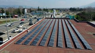 Bursa'da metro durakları enerji istasyonuna çevriliyor