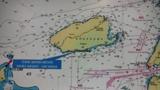 GÜNCELLEME 2 Gökçeada açıklarında 5 kişinin bulunduğu teknenin batması sonucu bir kişi öldü, kayıp iki kişi aranıyor