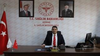 Edirne Sağlık Müdürü Yıldırım, kanserde erken tanının önemine dikkati çekti