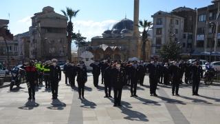 Türk Polis Teşkilatının 176. kuruluş yılı Biga'da kutlandı