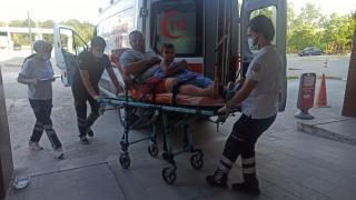 Kocaeli'de yüzmenin yasaklandığı bölgede boğulma tehlikesi geçiren 4 kişi hastaneye kaldırıldı