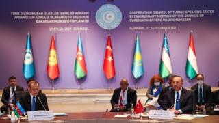 Azerbaycan Dışişleri Bakanı Bayramov, Mevlüt Çavuşoğlu ile ortak basın toplantısında konuştu: