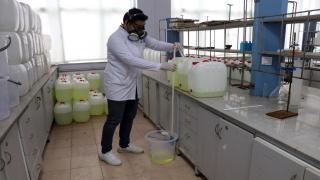 Trakya Üniversitesinin ürettiği dezenfektanla kamu 200 milyon liralık tasarruf etti