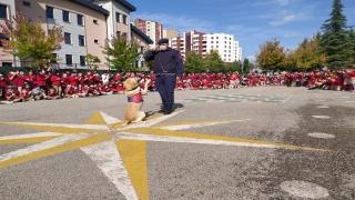 İzmit'te ilkokul öğrencilerine jandarma teşkilatı tanıtıldı
