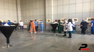 """""""Karantina - Yeni Medeniyet"""" sergisini sadece sağlık çalışanları görebilecek"""