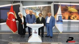 AK Parti Genel Başkanvekili Kurtulmuş Çanakkale Valiliğini ziyaret etti
