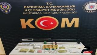 Balıkesir merkezli uyuşturucu operasyonunda yakalanan 9 şüpheli tutuklandı