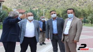 Trabzon Valisi İsmail Ustaoğlu 14 yıl önce kaymakamlık yaptığı ilçeyi ziyaret etti
