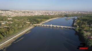 Edirne'de son yağışlar kentin verimli topraklarına can suyu oldu