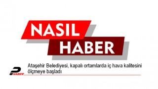 Ataşehir Belediyesi, kapalı ortamlarda iç hava kalitesini ölçmeye başladı