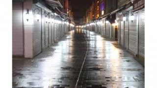 Sakarya ve Zonguldak'ta sokağa çıkma kısıtlamasının başlamasıyla sokaklar boşaldı