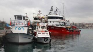 Tekirdağ'da lodosun etkisini kaybetmesiyle balıkçılar denize açılacak