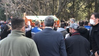 Havran Belediye Başkanı Emin Ersoy'un babasının cenazesi toprağa verildi
