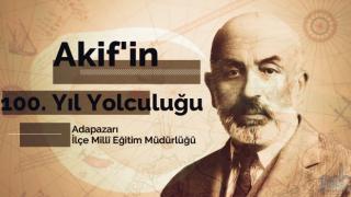 """ADAPAZARI İLÇE MEM """"ÂKİF'İN 100. YIL YOLCUĞU ETKİNLİĞİ"""" ULUSAL BASINDA"""